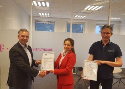 Deutsche Telekom Healthcare ontvangt ISO27001 en NEN7510 certificaat!