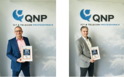 QNP ISO27001 en NEN7510 gecertificeerd