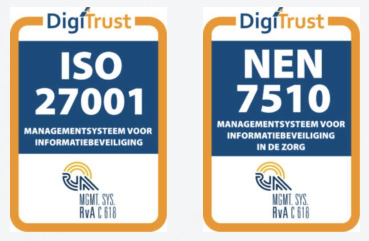 Let op; nieuwe versie ISO27001 en NEN7510 gepubliceerd