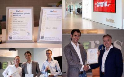 iWink behaalt ISO27001 certificaat