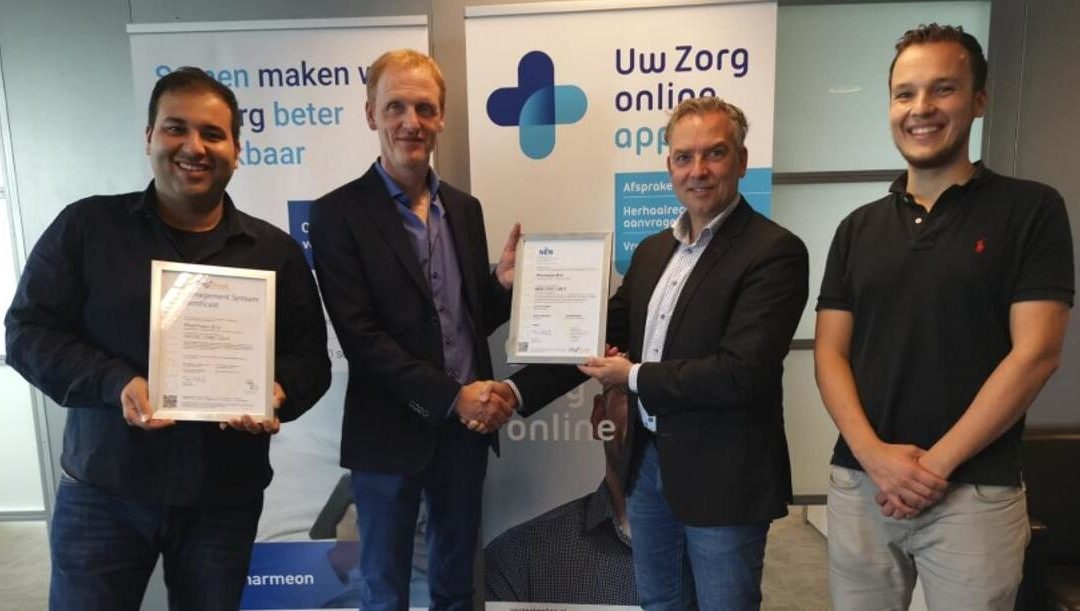 Pharmeon NEN7510 gecertificeerd