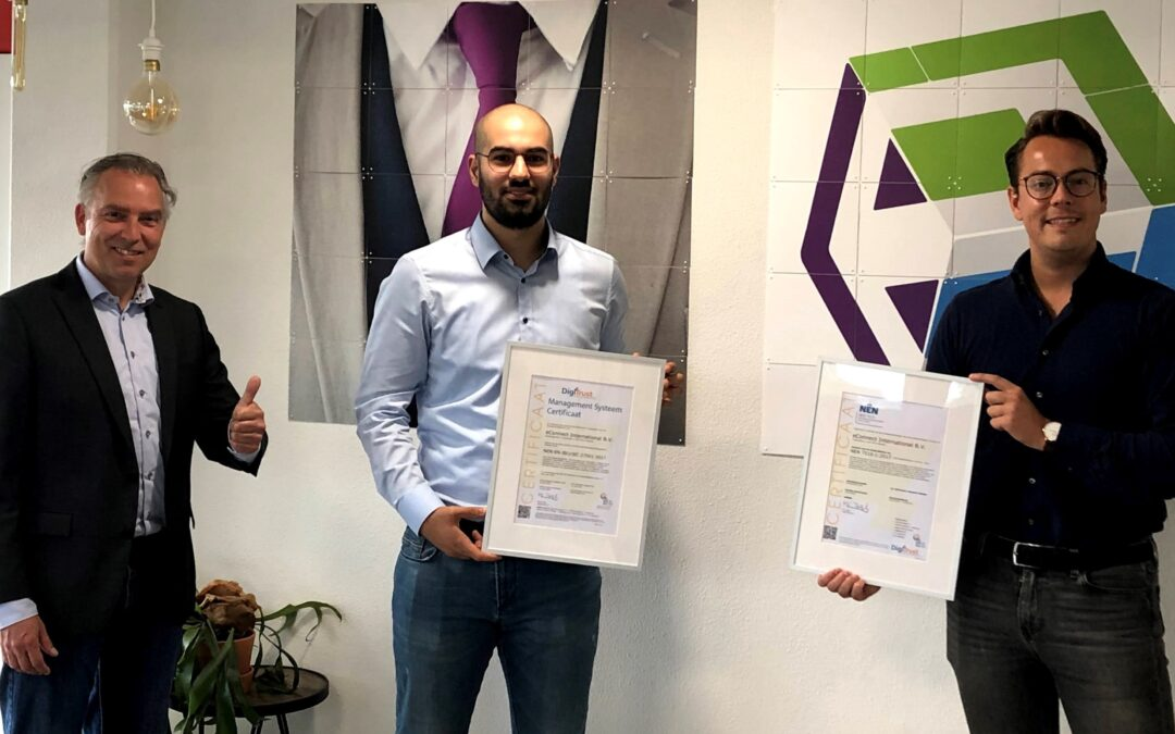 eConnect International nu ook NEN7510 gecertificeerd