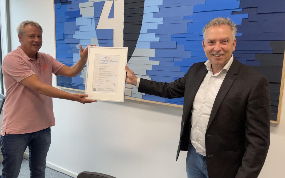 IP4Sure behaald ISO27001 certificering