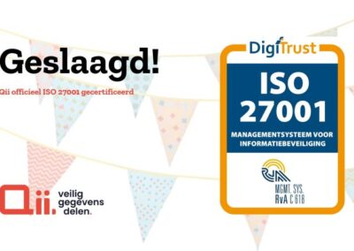 QII behaalt ISO27001 certificering